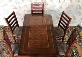 Masa və oturacaqlar.Qonaq otağı dəsti