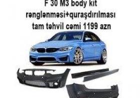 """""""BMW F30 M3"""" avtomobili body kit"""
