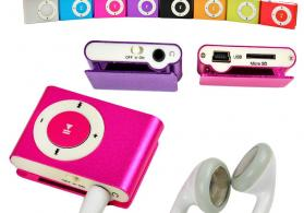 Mini mp3 player Metal Korpuslu