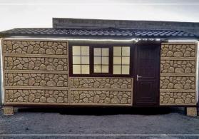 Daşinan beton evlerin satişi