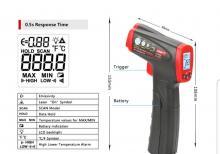 Texniki lazer termometr