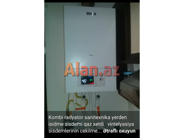Kombi radyator sanitexnika