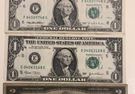1 ve 2 dollar