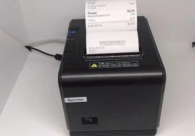X Printer Q-200 cek printeri