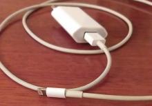 ayfon 7 adapteri