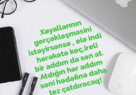 Xanımlar sizə iş təklifi öz bizness