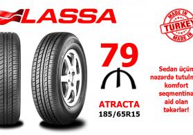 Lassa 185/65R15 ATRACTA 88T təkərləri
