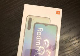 Redmi Note8 Space Black 4GB RAM 64 GB ROM