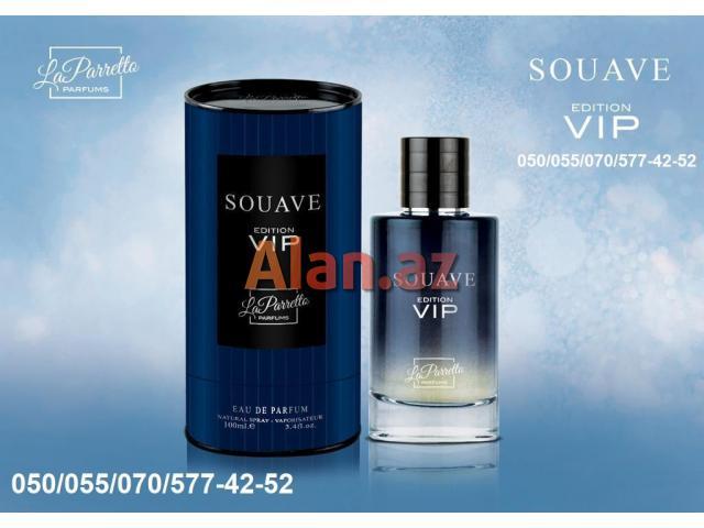 Souave Editon VİP Eau De Parfum for Men Natural Sprey