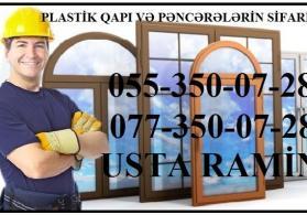 plastik qapi ve pencere sifarisi