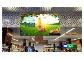 Bolmart ve Grandmart marketde reklam