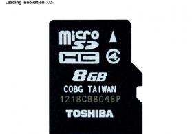 Toshiba 8Gb Micro yaddaş kartı