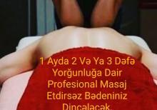 Professional Müalicəvi Masaj Hicama