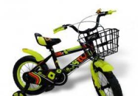 Uşaq üçün velosiped 14 Children Bicycle Yaşıl