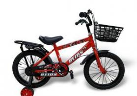 Uşaq üçün velosiped 16 Children Bicycle Qırmızı