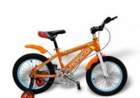 Uşaq üçün velosiped 16 Children Bicycle Narıncı