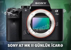 Sony A7 MK II -İcarə