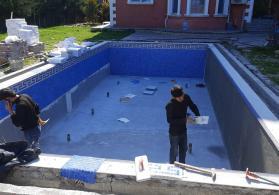 Hovuz tikintisi  bütn hovuz işleri