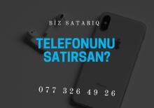 Telefonunu satırsan?