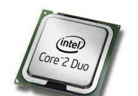 Core2 duo cpu