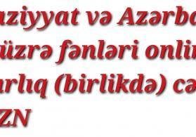 Riyaziyyat və Azərbaycan dili üzrə (birlikdə)