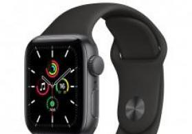 Smart-saat Apple Watch Series SE 44mm Space Grey Aluminium Case with Sport Band