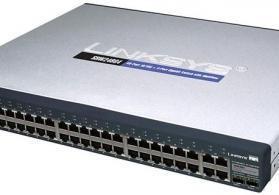 Linksys 48 port switch