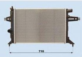 "Opel Zafira 1999-2005"" su radiatoru"