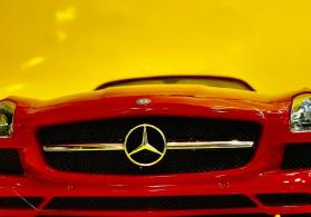 Mercedes SLS AMG pultlu avtomobil