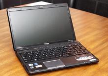 Toshiba A665 noutbuku