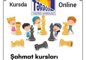 Online və kursda şahmat dərsləri