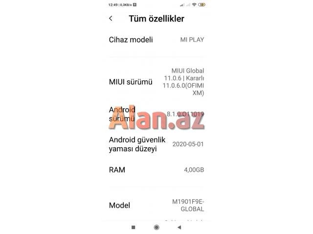 Xiaomi Mi Play 4/64 GB Neptune Blue