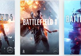 Battlefield 1 Battlefield 4 Battlefield V