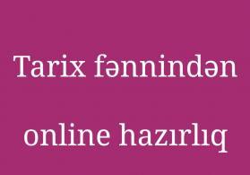 Tarix fənnindən online abituriyent hazırlığı