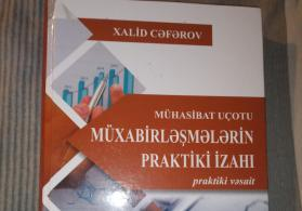 Muhasibat uçotu kitabı satılır