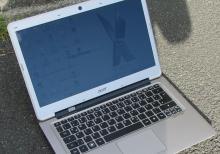 Acer aspire S3 noutbuku