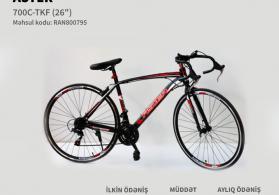 Velosiped Aster 29 24S AS-700 Black-Red İlkin Odenissiz Arayissiz Zaminsiz