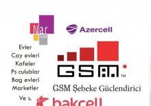 GSM şəbəkə gücləndirici