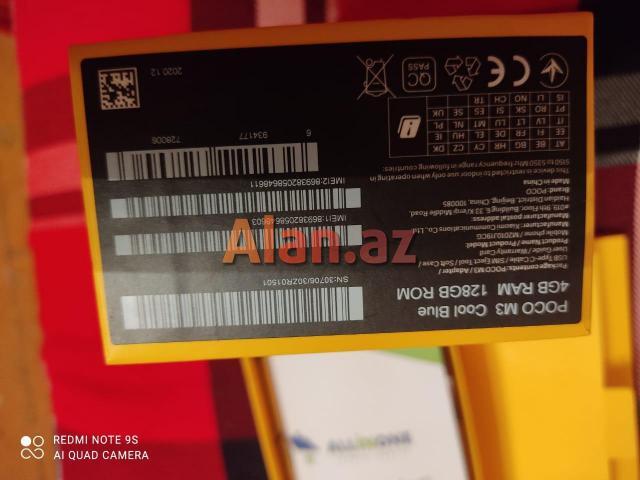 Xiaomi poco M3 satilir