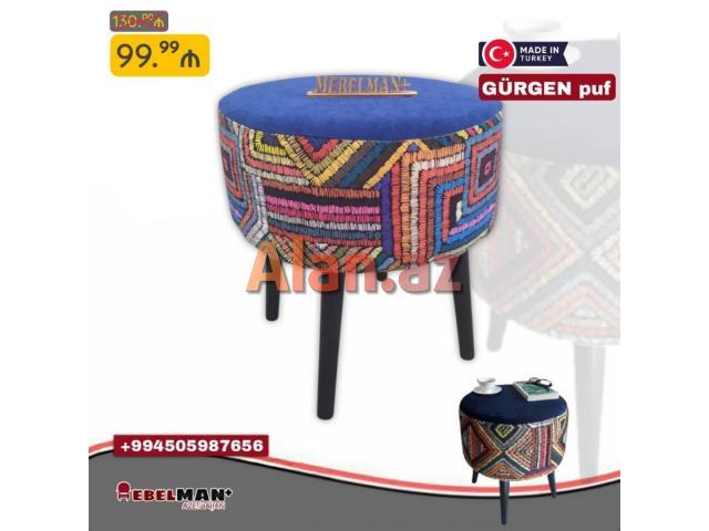 Puf GÜRGEN Türkiyə istehsalı   MEBELMAN+