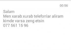 telefon elanlari
