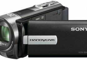 Camcorders SONY DCR-SX65E