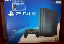 PS4 Pro 1 tb oyun konsolu