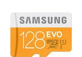 128 Gb mikro kart Samsung