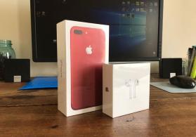 Apple iphone 7 plus 128GB qırmızı