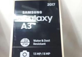 Samsung A3 2016 gold Telefonu Təzə
