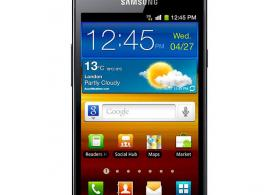 Ucuz samsung s2 mobil telefonu