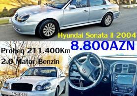 Hyundai sonata 2004 8800azn