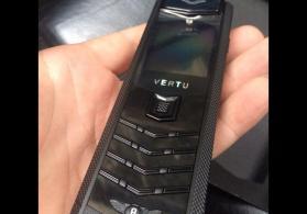 Full black vertu bentley.