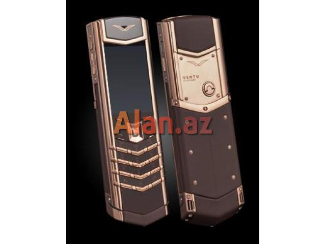 Vertu Signature S Design Brown Gold